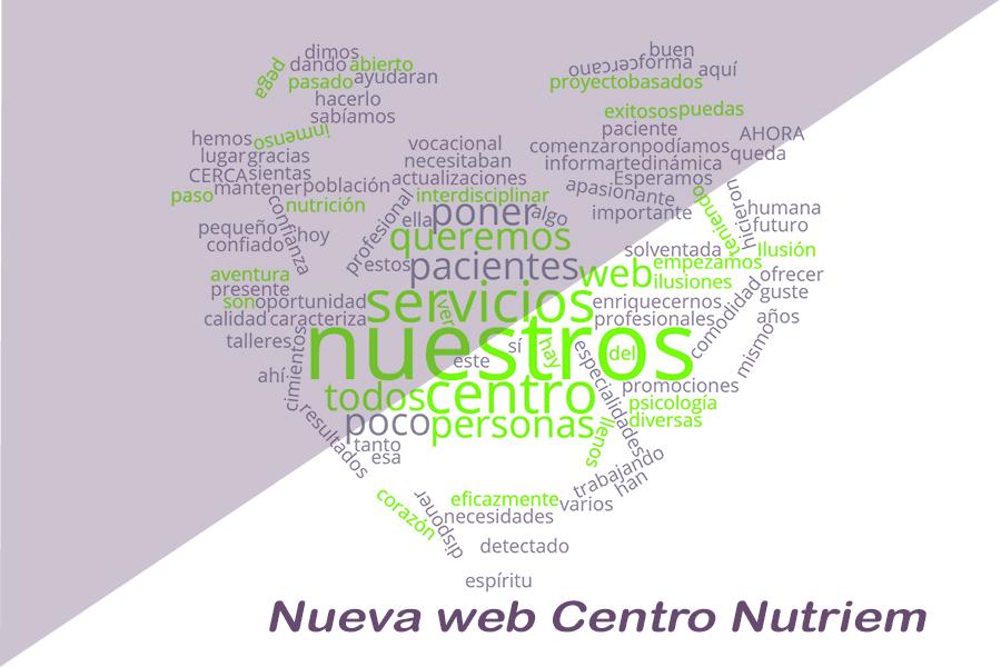 Nueva web Centro Nutriem Sevilla